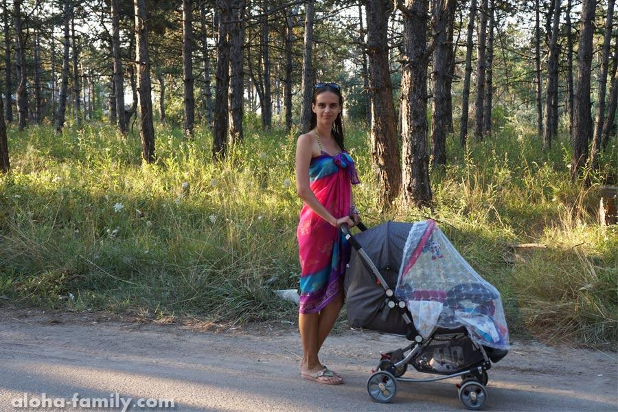 Коблево, 30 июля 2014 - прогулки на свежем воздухе