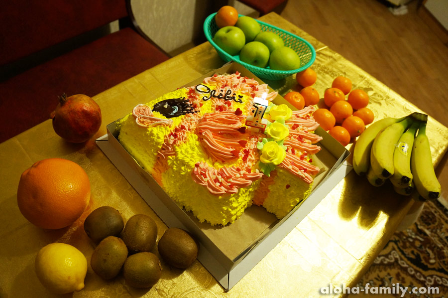 Трускавец, 04 марта 2015 - Оливкин торт