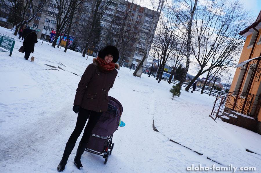 Трускавец, 08 февраля 2015 - снежный день