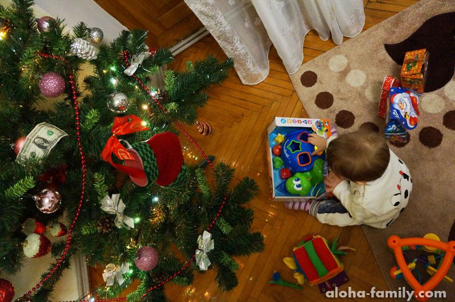 Трускавец, 31 декабря 2014 - Дед Мороз приехал!))