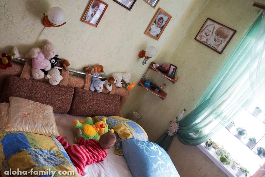 Запорожье, 13 сентября 2014 - исследуем диван у родни