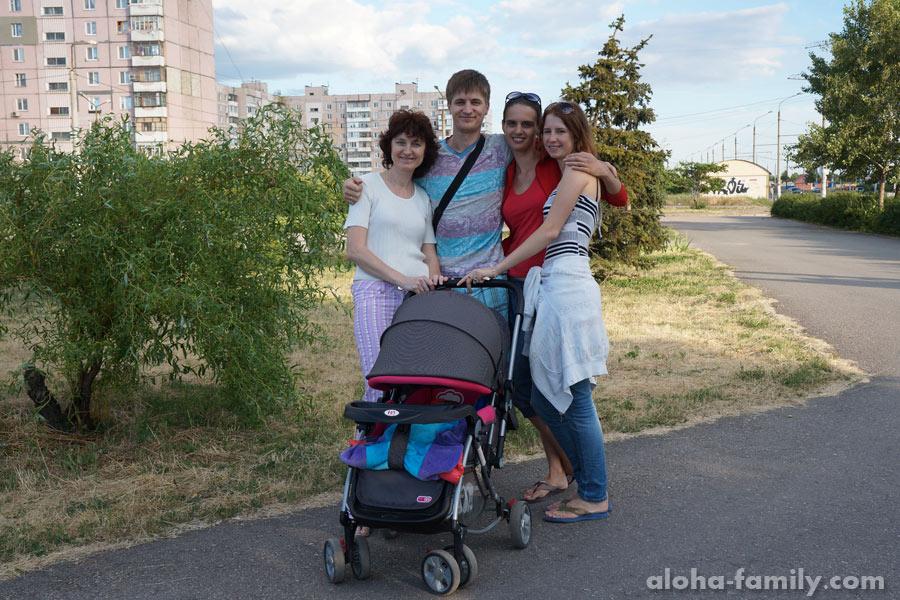 Запорожье, 15 июня 2014 - гуляем на моем родном райончике (Пески)