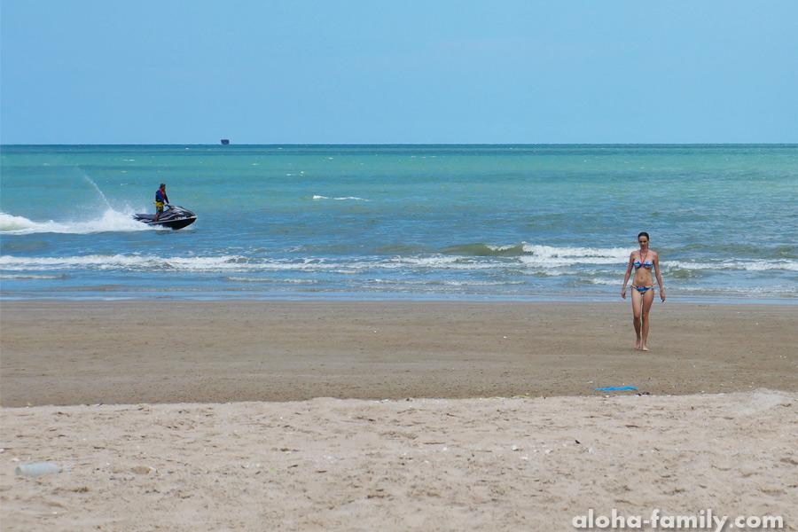 Пляж Ча Ам во всей красе