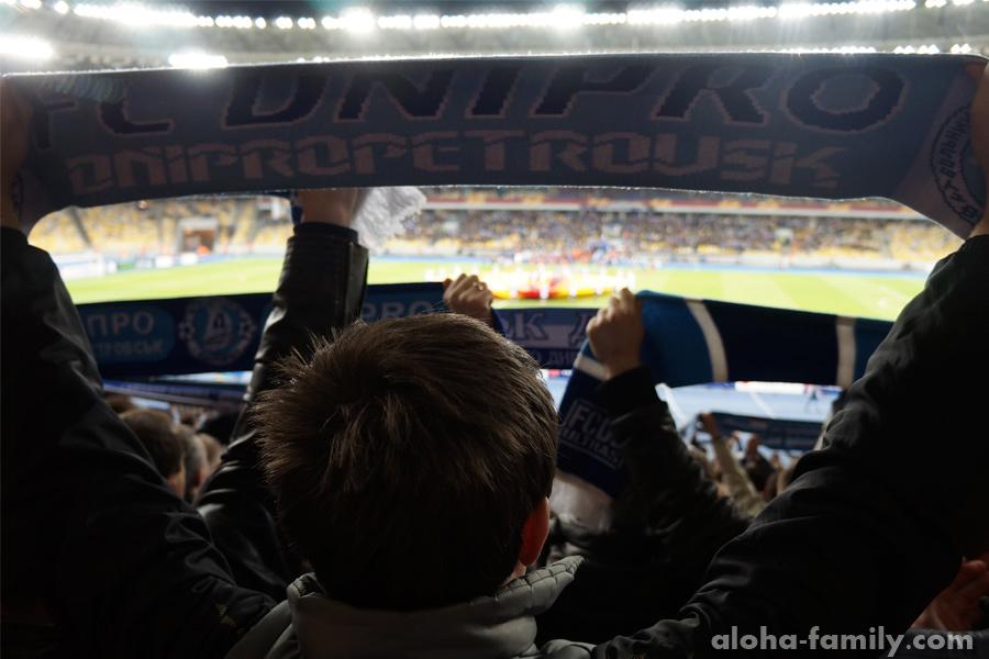 Днепр-Брюгге 1/4 финала Лиги Европы