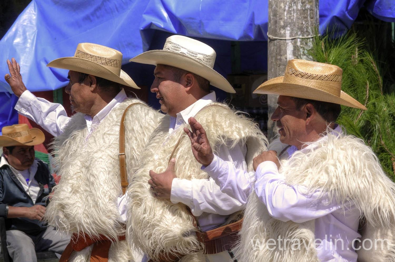 Мексика, племена в городе Сан Хуан Чамула