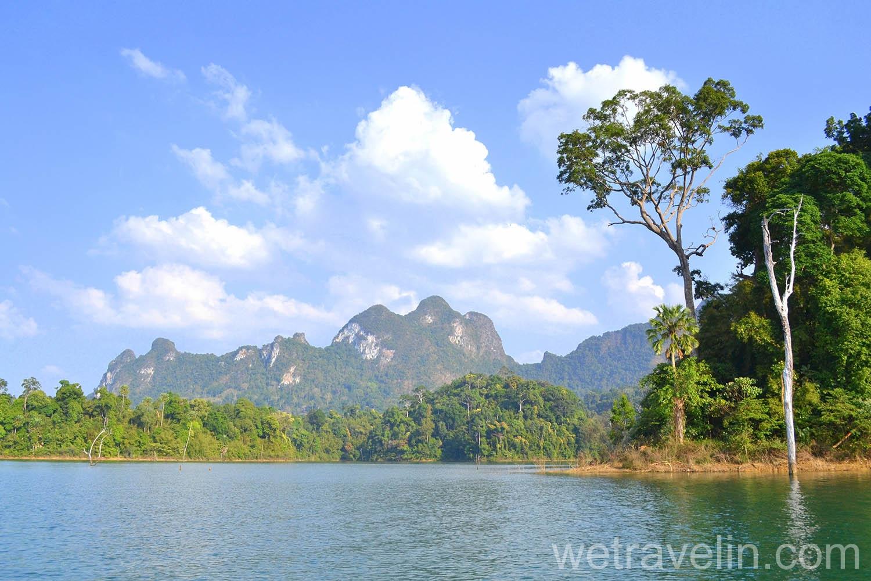 Таиланд, озеро Чео Лан