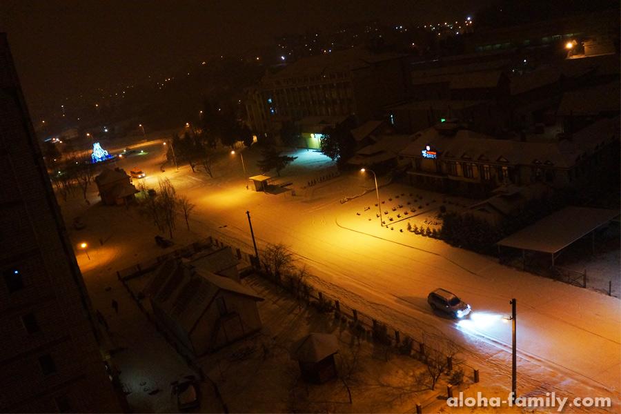 29 декабря. Ура, снег!