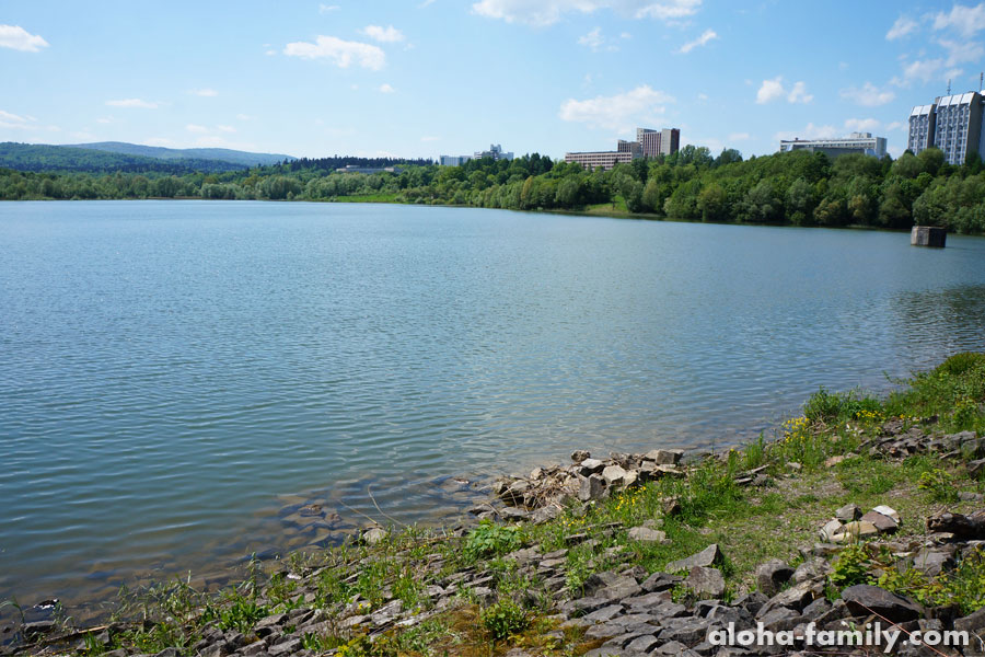 Озеро Слоница в Трускавце