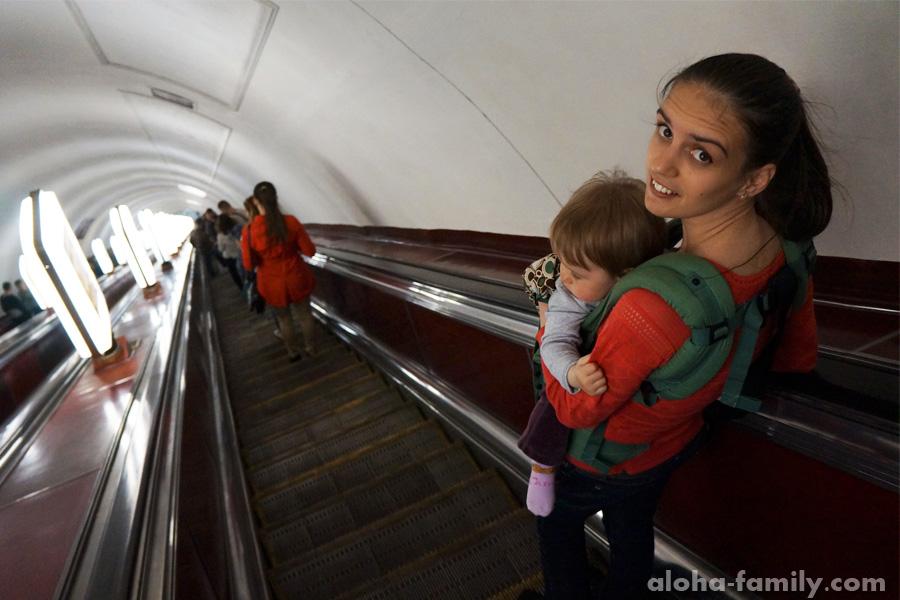 Спускаемся в метро