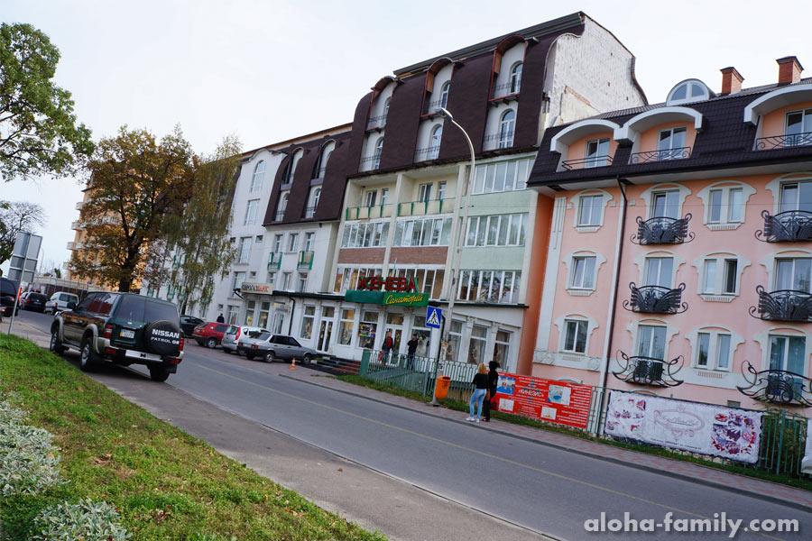 """Отель """"Женева"""" в октябре"""