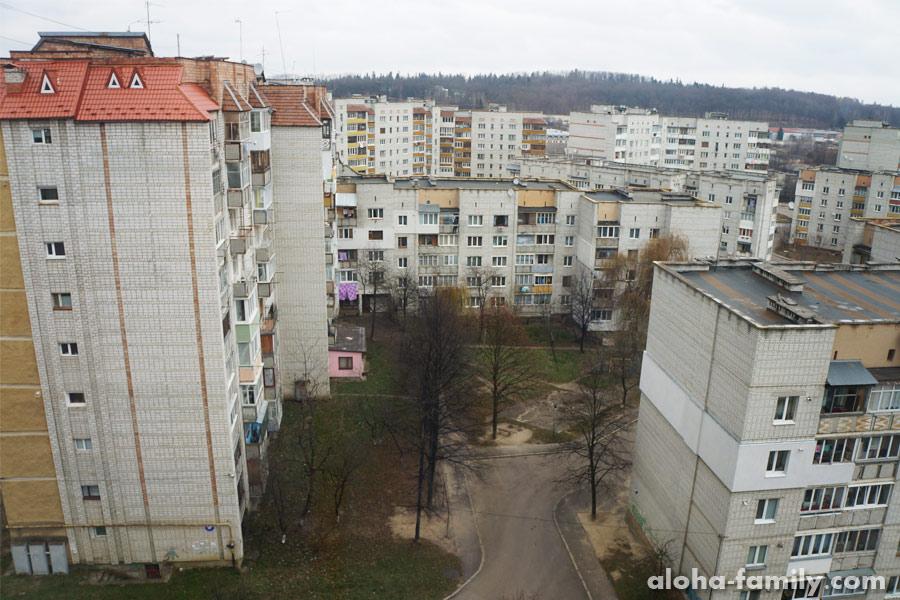 Спальный район Трускавца