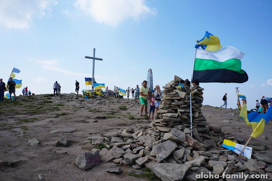 2061 метр - наивысшая точка Украины