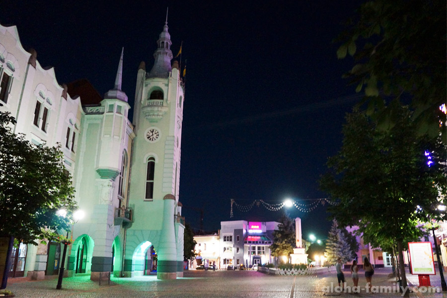 Мукачево, ратуша