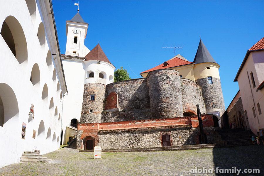 Мукачевский замок изнутри