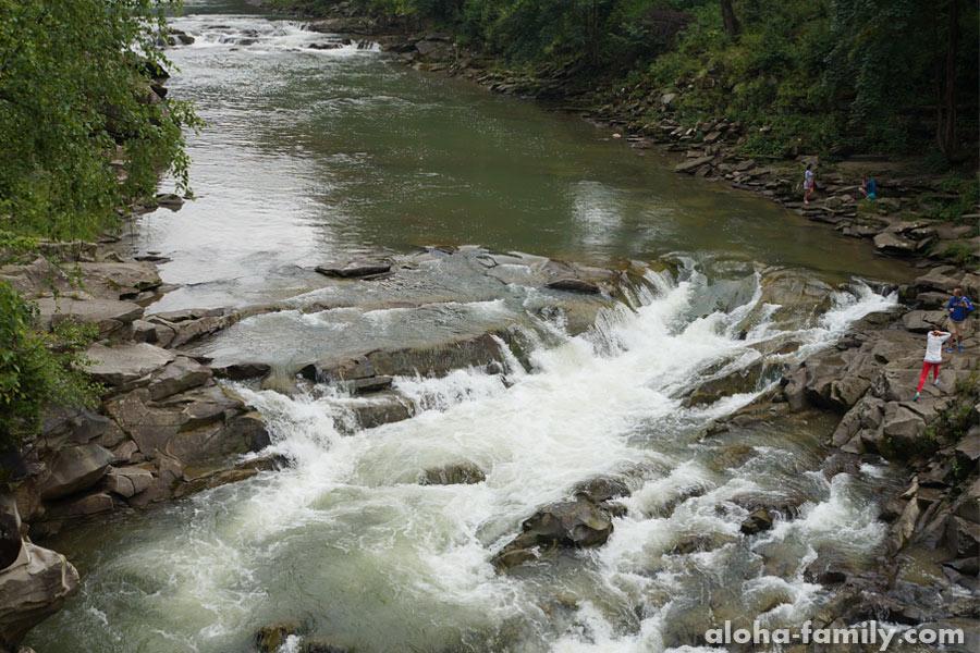 Водоспад Яремче