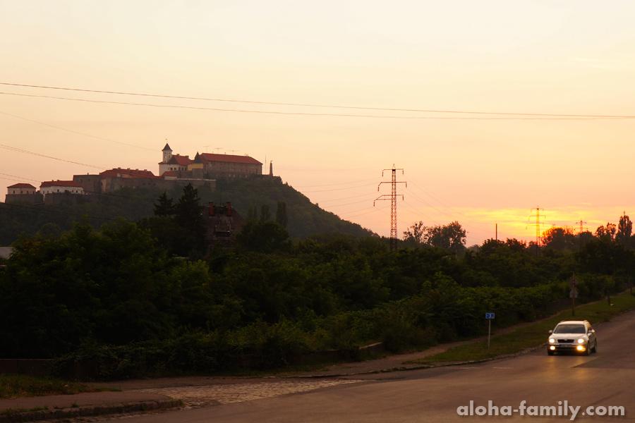 Закат в Мукачево
