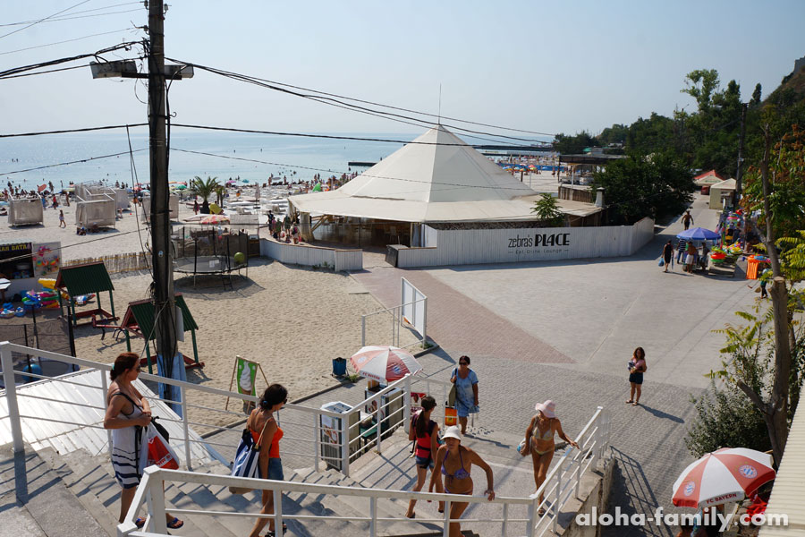 Опять же пляж Чайка, надо посмотреть, что он за зверь)