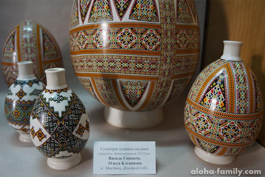 Бутылочки-писанки из Макеевки, Донецкой области