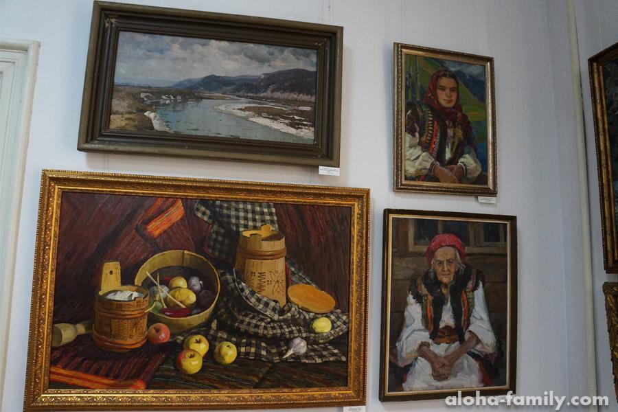 Картины гуцульских мастеров