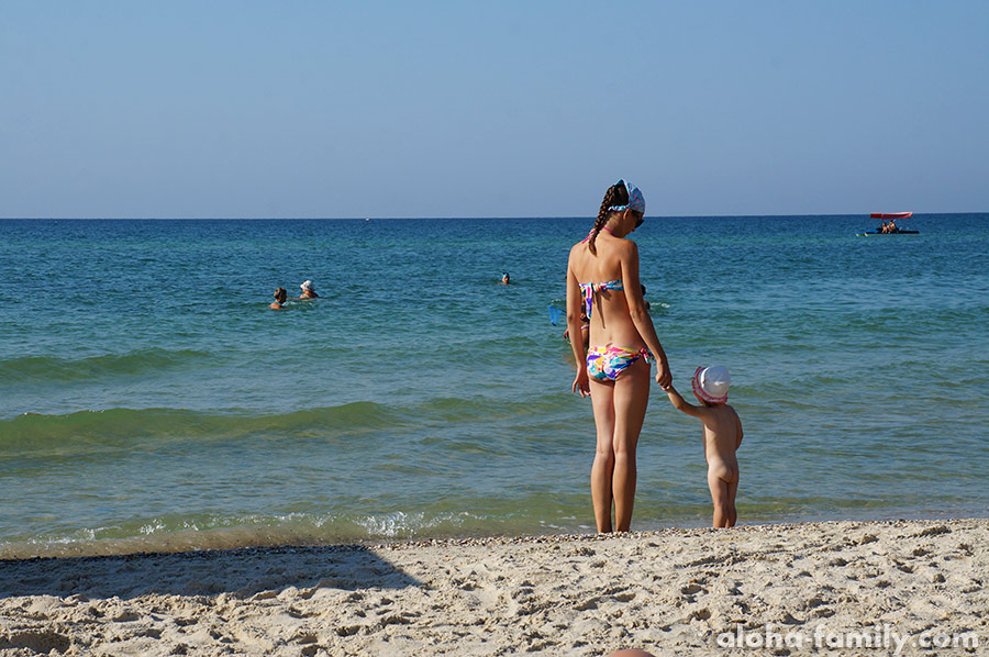 Мама и дочь, Лазурное 2015
