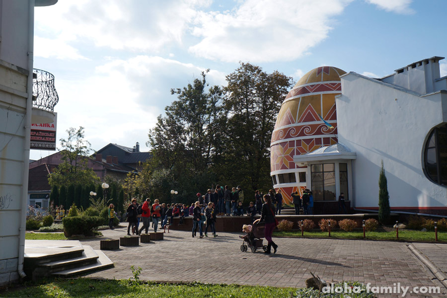 Музей писанка, Коломыя