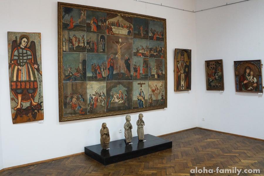 Музейные экспонаты, связанные с религией