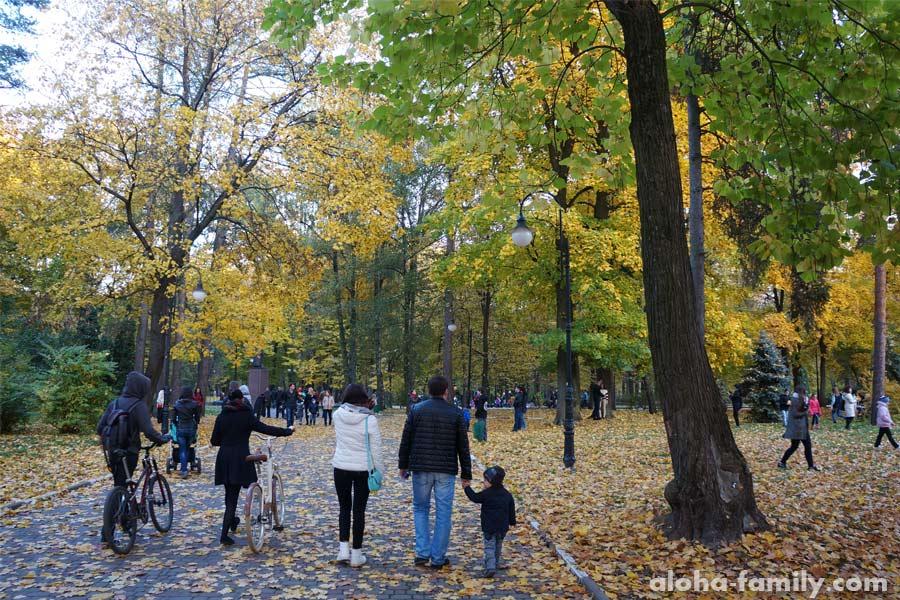Городской Парк в ИФ и осенний фотобум