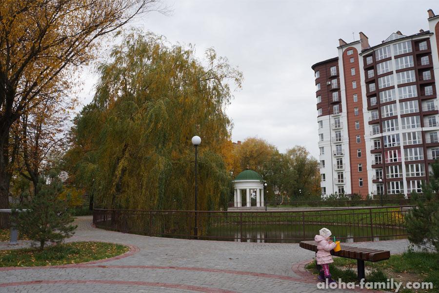 Озеро в Калиновой Слободе, пригород Ивано-Франковска