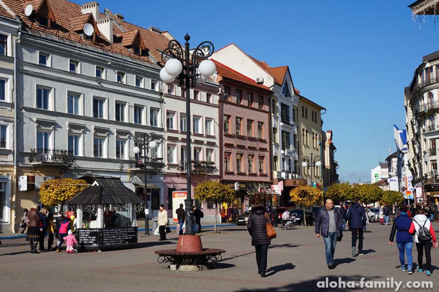 Площадь Рынок, Франковск