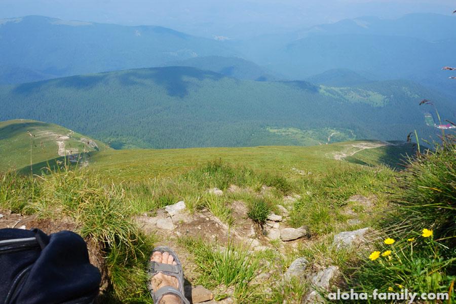 Моя экскурсия на Говерлу подходит к концу - вот-вот я поднимусь на вершину!
