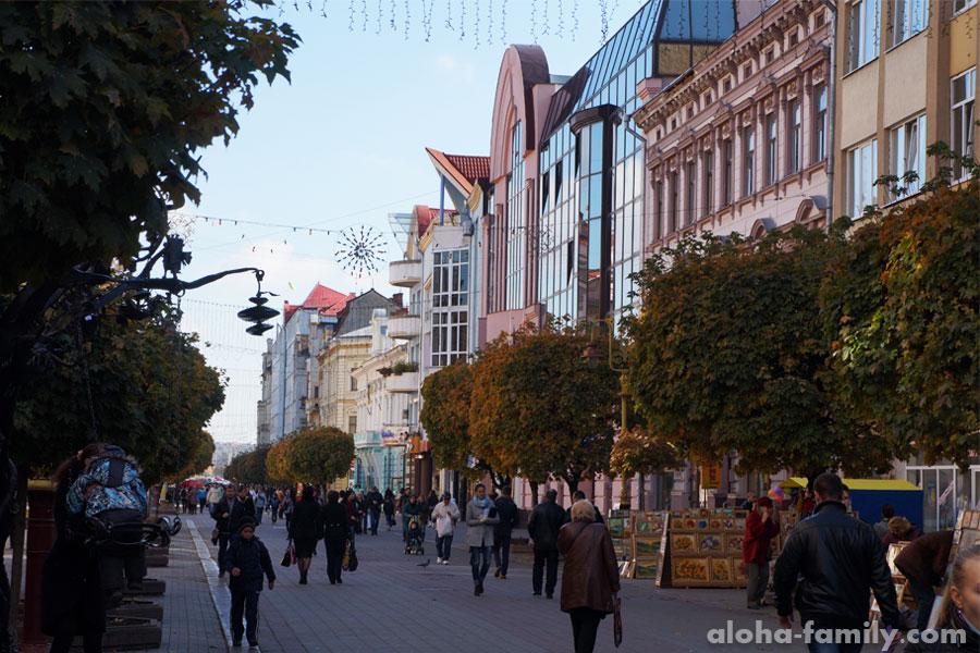 Город Ивано-Франковск: осенняя прогулка