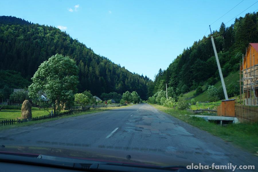 Дорога на Синевир
