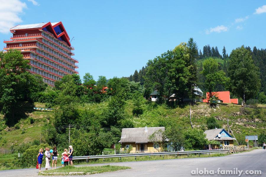 Неожиданно в селе Соймы большой современный отель
