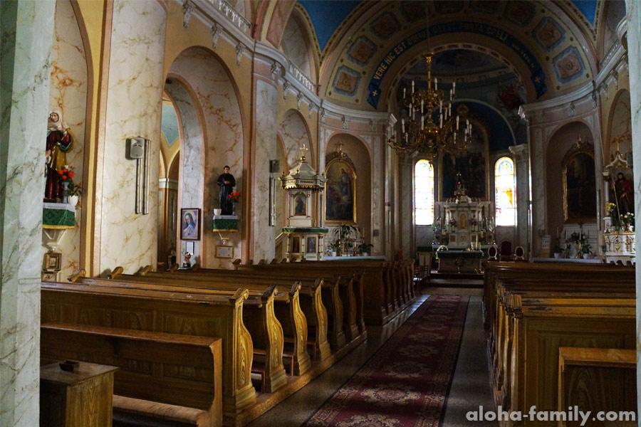 Костел Св. Юрия (Георгия), Ужгород