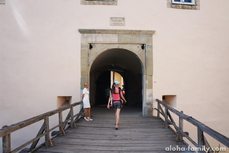 Мостик в Ужгородском замке
