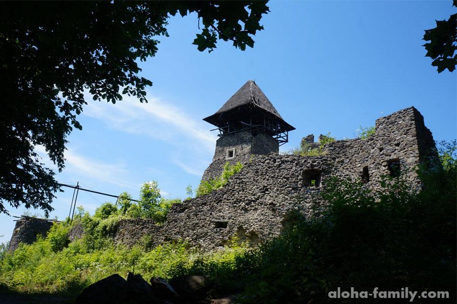 Невицкий замок снаружи