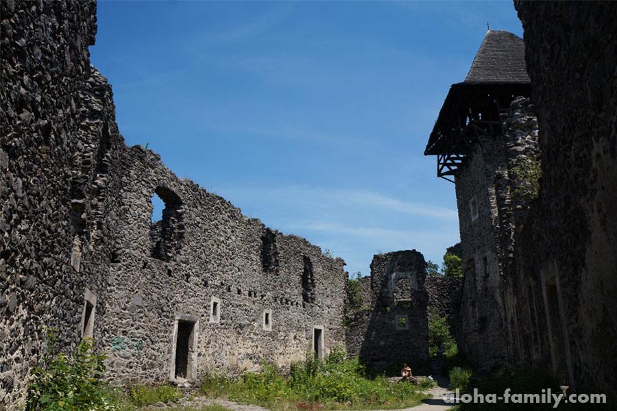 Невицкий замок внутри