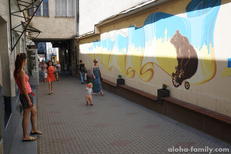 Переулок в Ужгороде