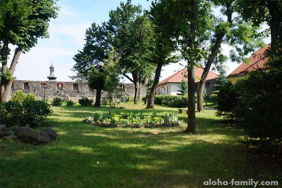 Территория Ужгородского замка