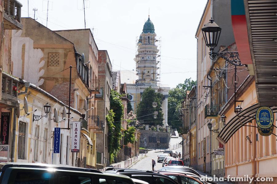 Ужгород — самый западный областной центр Украины