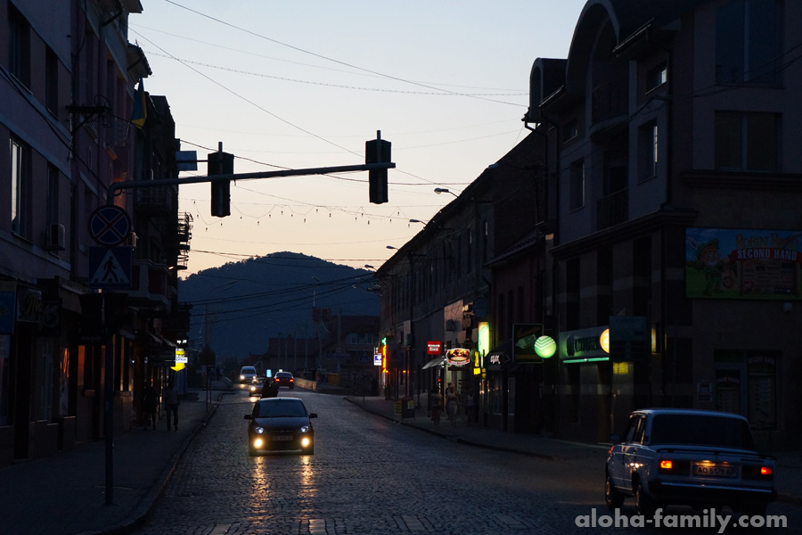 Вечер в Мукачево