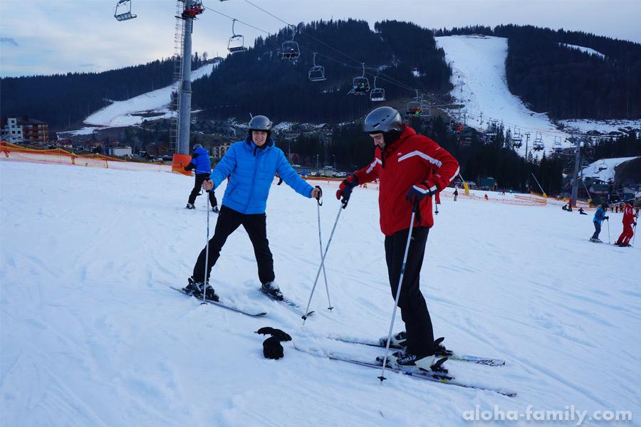 Детская горка в Буковеле - лучший друг лыжника-новичка