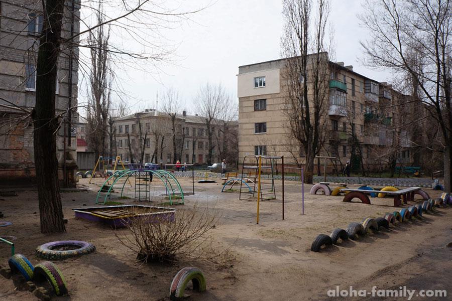Детские площадки...