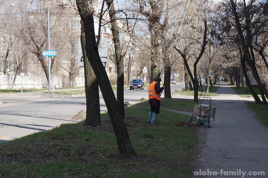 Улица моих бабушки и дедушки в Северодонецке