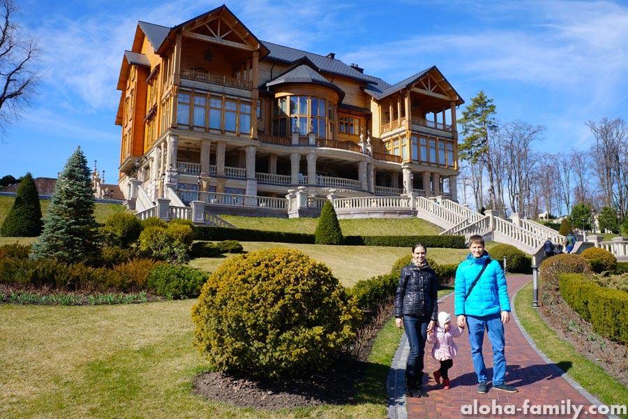 Национальный парк Межигорье, бывшая резиденция Януковича