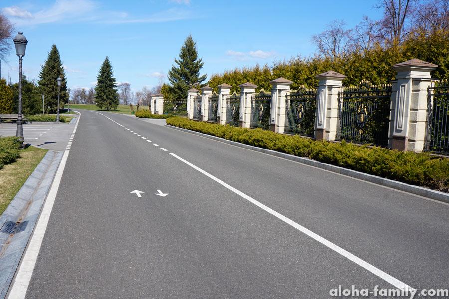 Дорога к гольф полям... чтоб все так жили))