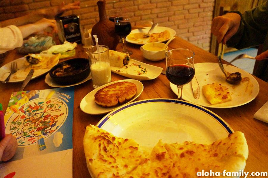 Ужин в Тбилисском кафе