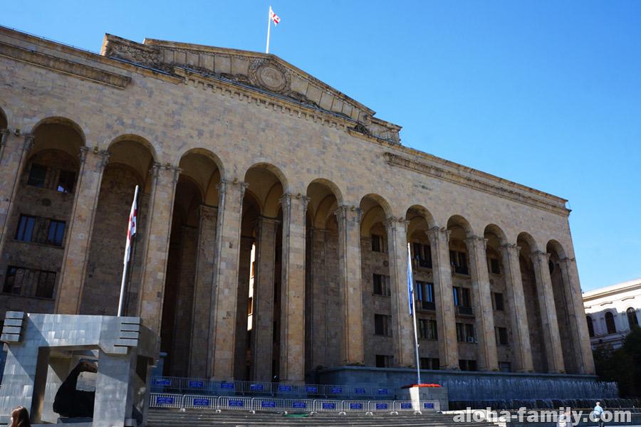 Парламент Грузии - очень понравилась архитектура