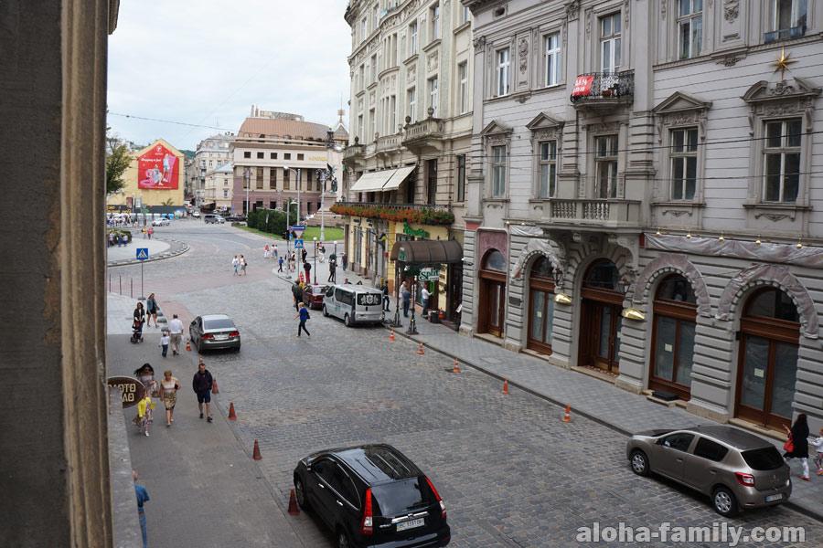 Вид из окна знакомых во Львове
