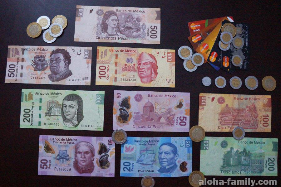 Мексиканский песо (MXN) - валюта Мексики, обозначается знаком $
